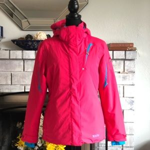 Women's spyder snowboard jacket medium pink